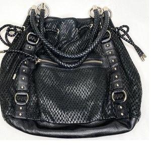 NWOT Bebe leather Bucket bag